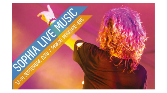 Euclyde était sponsor du Sophia Live Music